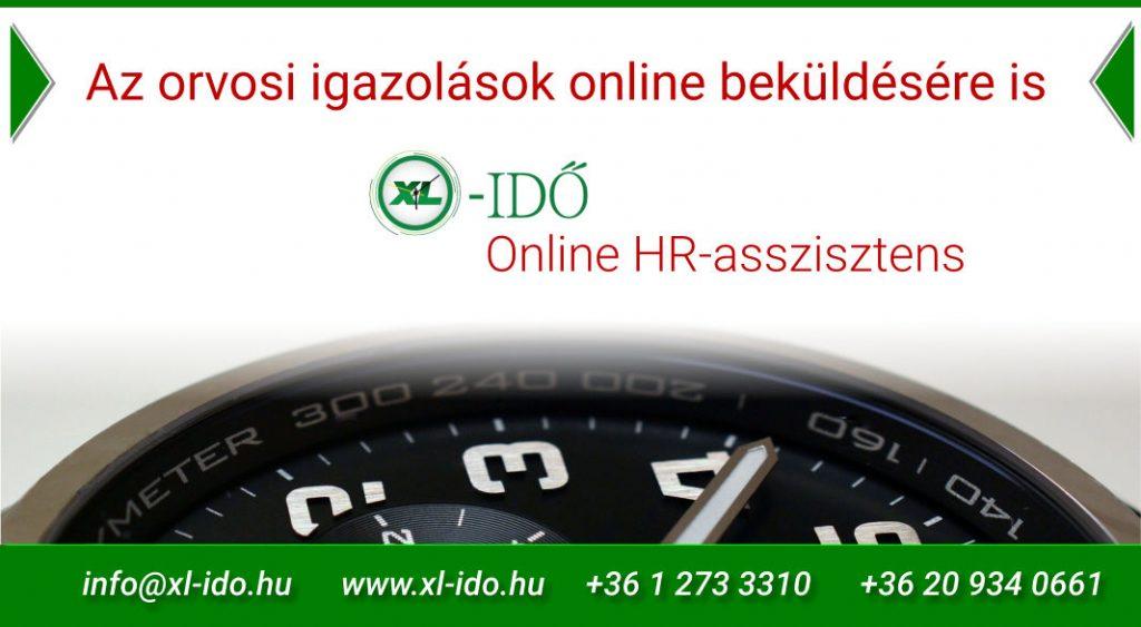 XL-IDŐ Online HR asszisztens és munkaidő nyilvántartó rendszer
